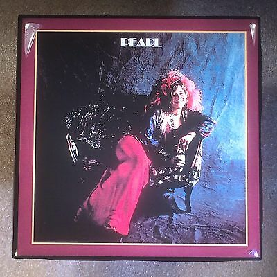 JANIS JOPLIN Pearl Record Cover Art Ceramic Tile Coaster