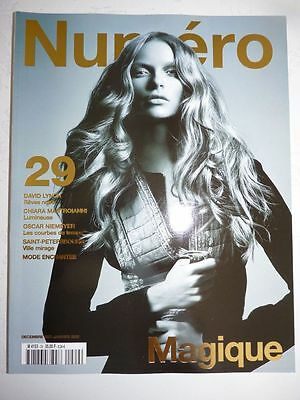 Magazine mode fashion NUMERO #29 decembre 2001 janvier 2002 Magique David Lynch