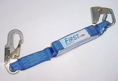 New FIRST Protecta Safety Rope Grab 2' & Shock Absorber AC27900 for Climbing