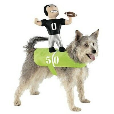 Hunde Fasching Halloween Karneval Kostüm Football Player Costume Dog Reiter L-XL