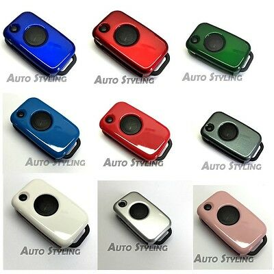 Key Cover Case for Mercedes Benz Remote Fob 1 Button Hull Bag Shell Protector 71