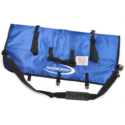 Archery Blue Portable Bow Bag Case Quiver For Recurve Bow Shooting Hunting