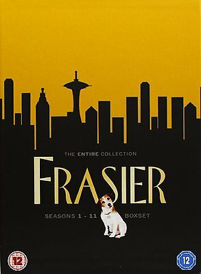Frasier 1-11 The Complete Dvd Season 1 2 3 4 5 6 7 8 9 10 11 Englisch