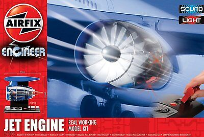 New Airfix Engineer 1:24 Scale Jet Engine Model Kit A20005