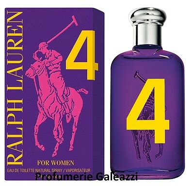 RALPH LAUREN 4 FOR WOMEN THE BIG PONY COLLECTION EDT VAPO NATURAL SPRAY - 30 ml