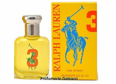 RALPH LAUREN 3 FOR WOMEN THE BIG PONY COLLECTION EDT VAPO NATURAL SPRAY - 30 ml