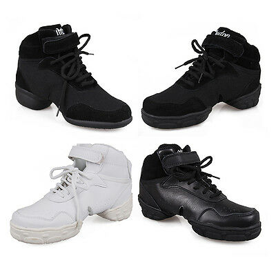 New Unisex Modern Jazz Hip Hop Dance Sneakers Shoes  free shipping B52