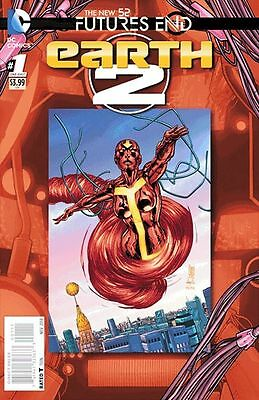 Earth 2  Futures End #1 (2014) Standard Cover 1St Print Bagged & Boarded