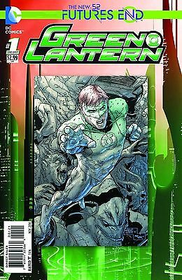 Green Lantern Futures End #1 (2014) Standard Cover 1St Printing Bagged & Boarded