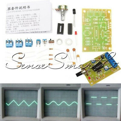 ICL8038 Function Signal Generator Module Sine Square Triangle Wave Output Kit ST