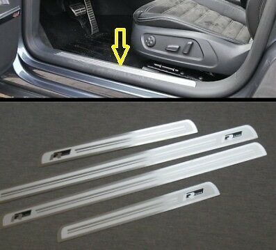 Door sill scuff plate Guards For VW 2008 + CC R36 Passat B6  B7 2012 2013 2014