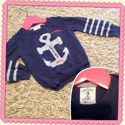 Pull SAILOR FOR EVER fille 36 mois 3 ans TTBE