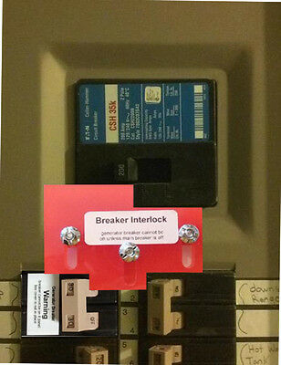 CH-3 Generator Interlock Kit for Eaton / Cutler Hammer Panels
