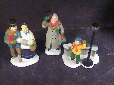 Dept 56 Accessories Dickens Village Set/3 CHRISTMAS CAROL MORNING #55883