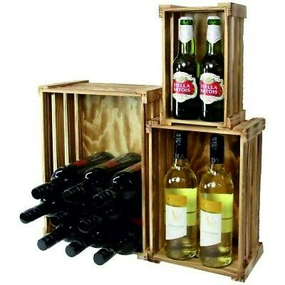 Rustic Wooden Display Crates Small Medium Large Display Box ST090/1/2