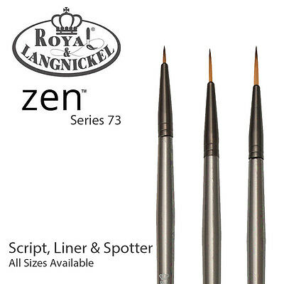 Royal & Langnickel Zen All Media Paint Brush S73 - Script, Liners & Spotters