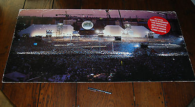 RARE ROGER WATERS 'THE WALL' LP LARGE 1990 ADVERTISING WALL HOARDING pink floyd