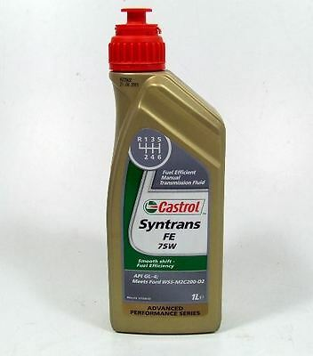 Castrol Syntrans FE 75W / 1 Liter, Ford, Volvo und Toyota, besonders in 6-Gang