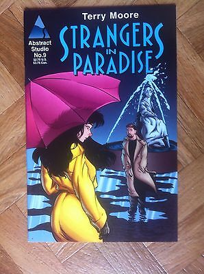 Strangers In Paradise #9 Terry Moore Homage Comics Very Fine/near Mint (F53)