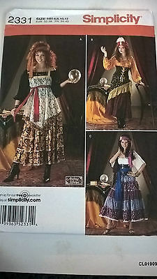 Simplicity Pattern 2331 Costumes 6-12
