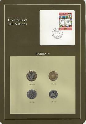 Coin Sets of All Nations - Bahrain 4 coin set, Scarce