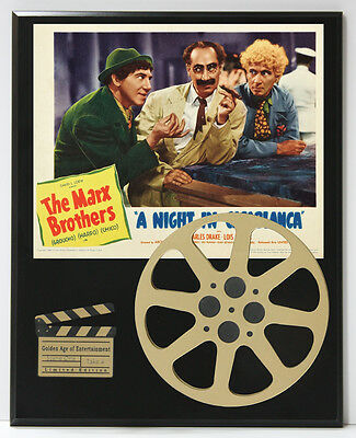 Marx Brothers A Night In Casablanca Limited Edition Movie Reel Display