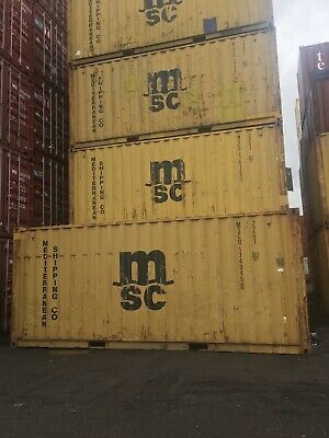 20' Used storage containers