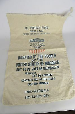 50 Lb All Purpose Flour Donated to the People of the World Bag