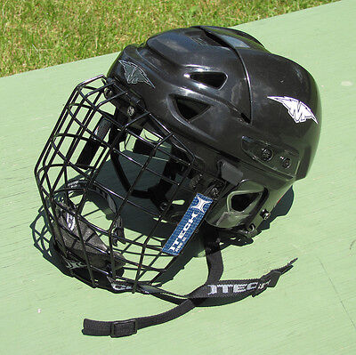 MISSION INTAKE HOCKEY HELMET Size M With CAGE PERFECT!