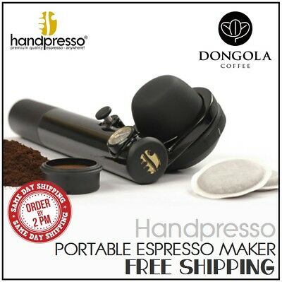 HANDPRESSO WILD HYBRID Pump Portable Espresso Machine E.S.E Pods / Ground Coffee