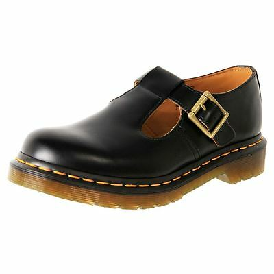 New Dr. Martens Doc. Women's Leather T-Bar Mary Jane Shoe Polley Cheap