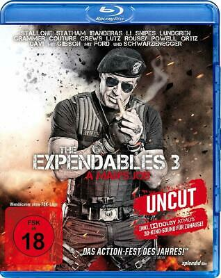 THE EXPENDABLES 3  A Man's Job  Extended Director's Cut  Dolby Atmos BLU-RAY