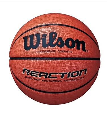 Wilson NCAA Replica Basketball Composite Leather-Official - New