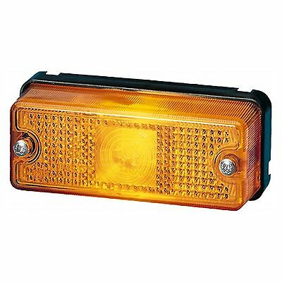 Side Marker Light: Marker Lamp YEL with Amber Lens | HELLA 2PS 003 748-121