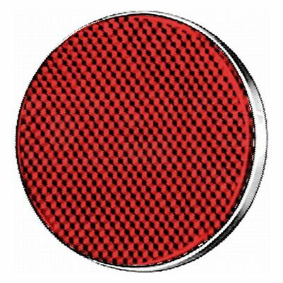 Rear Reflector: Round Reflector Red | HELLA 8RA 002 016-111