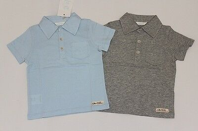 Brand New Country Road Baby Boys Jersey Polo Shirts Size 0-3M