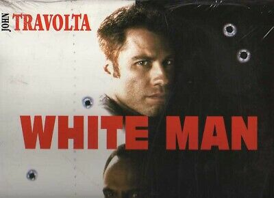 WHITE MAN WS VF LASERDISC NEUF PAL John Travolta, Harry Belafonte, Kelly Lynch