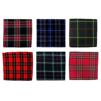 "Tartan Plaid Fabric/Material/Cloth 106"" x 53"" (268x135cm) - Large Choice"