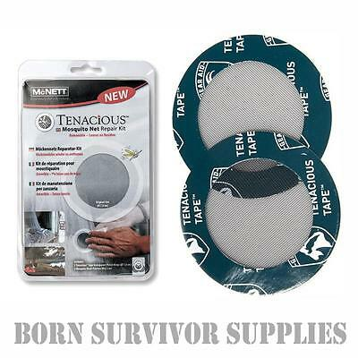 McNett Tenacious Tape Mosquito Net Repair Kit - Mozzy Bug Fly Sheet Mesh Patch