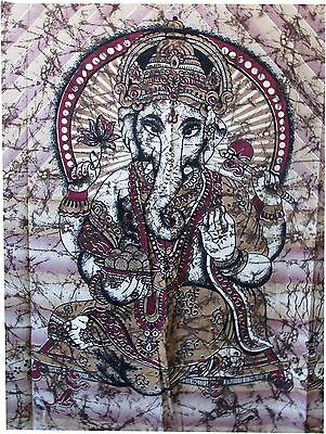 Indian Lord Ganesh Tapestry Wall Hanging Hippie Twin Tapestry Ganesha Wall Throw