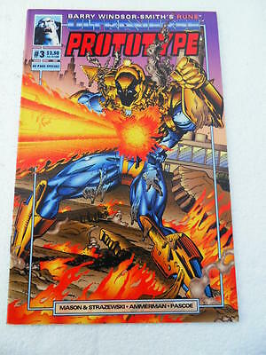 Prototype 3 . Special 40 pages- Malibu 1993 -  VF - minus