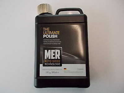 Mer The Ultimate Polish Caravan Motorhome Car Auto Shine 1ltr