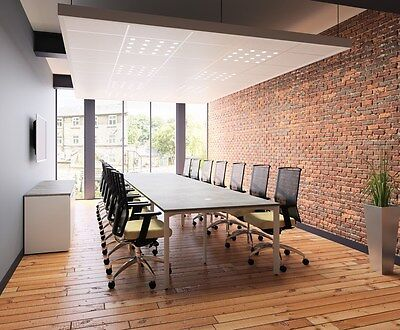 Sven 3.0 x 1.2m seat 10 Boardroom table, Conference table, Meeting Table