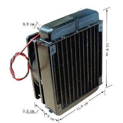 DIY water cooler parts cooling tank for Thermoelectric Cooler air conditioner 60
