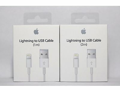 OEM Authentic Original Apple iPhone 6 S 6 Plus 5S Lightning USB Cable Charger