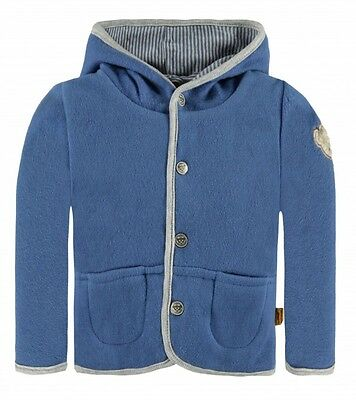 Steiff 6642603 Fleece Jacke Fleecejacke Be My No 1 Hose 3820 Moonlight Blue Blau