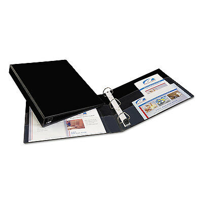 "Avery Heavy-Duty Binder with One Touch EZD Rings 11 x 8 1/2 1"" Capacity Black"