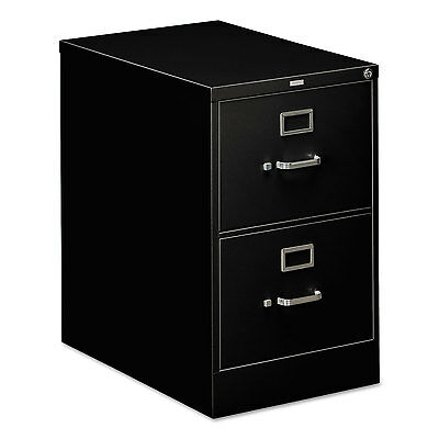 Hon 310 Series Two-Drawer Full-Suspension File Legal 26-1/2d Black 312CPP