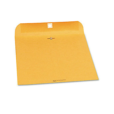 Quality Park Clasp Envelope 9 x 12 28lb Brown Kraft 250/Carton 37590