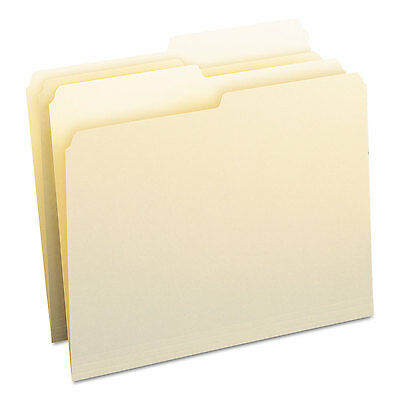 Smead File Folders 1/2 Cut One-Ply Top Tab Letter Manila 100/Box 10320